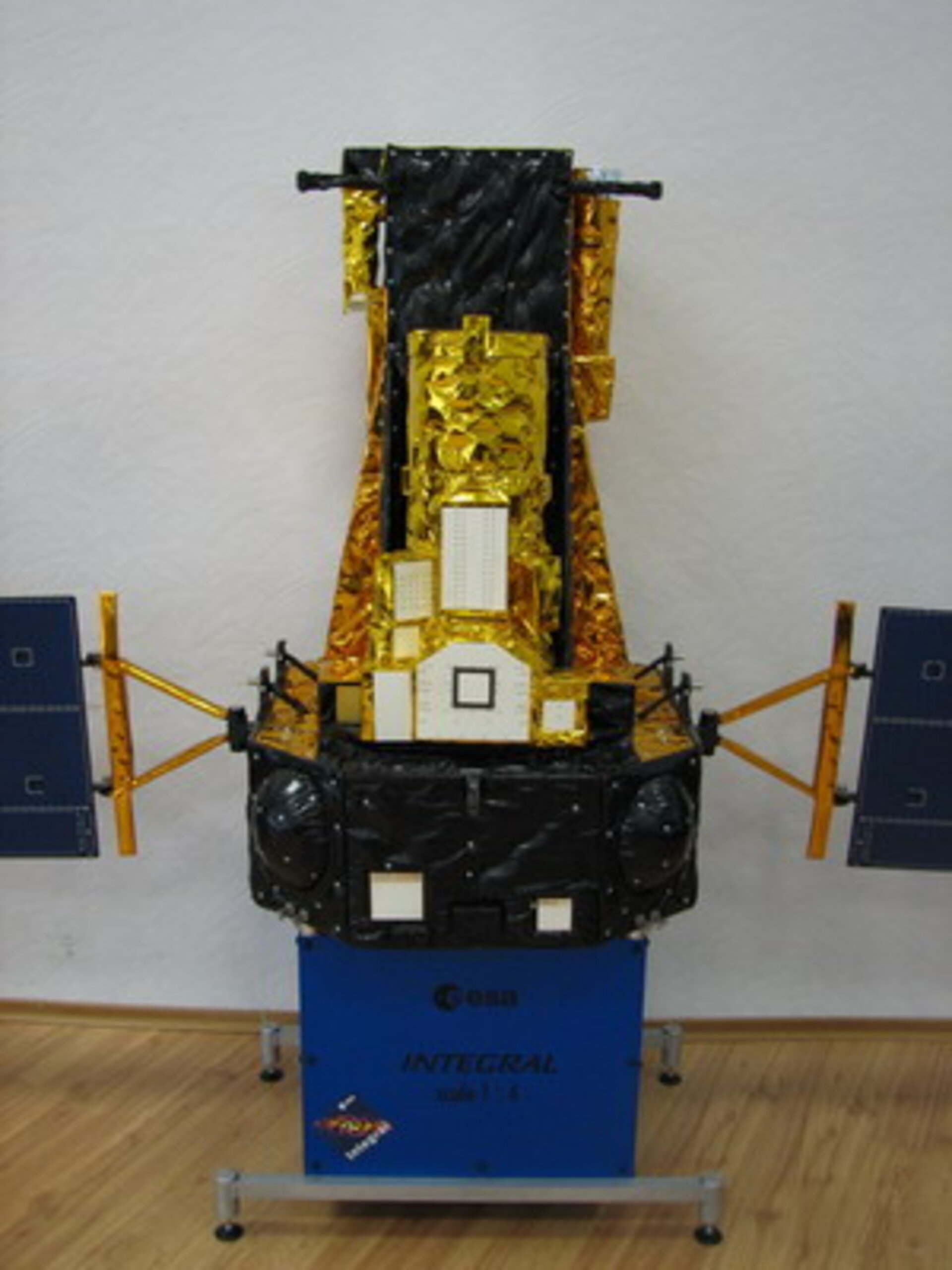 Integral mock-up at the workshop at Space Research Institute (IKI)