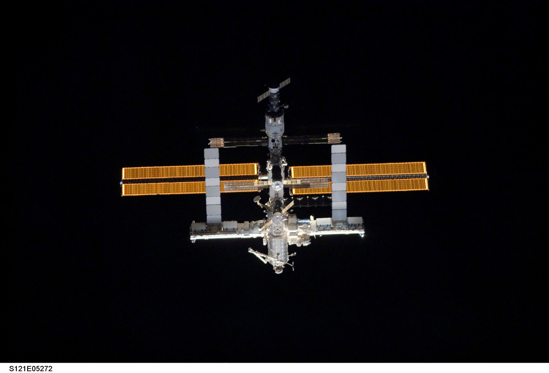 Reiter is scheduled to stay on board ISS until December 2006