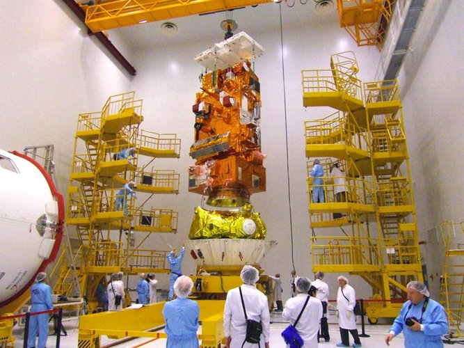 MetOp joining the Fregat upper-stage