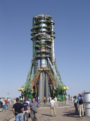 MetOp on the launch pad
