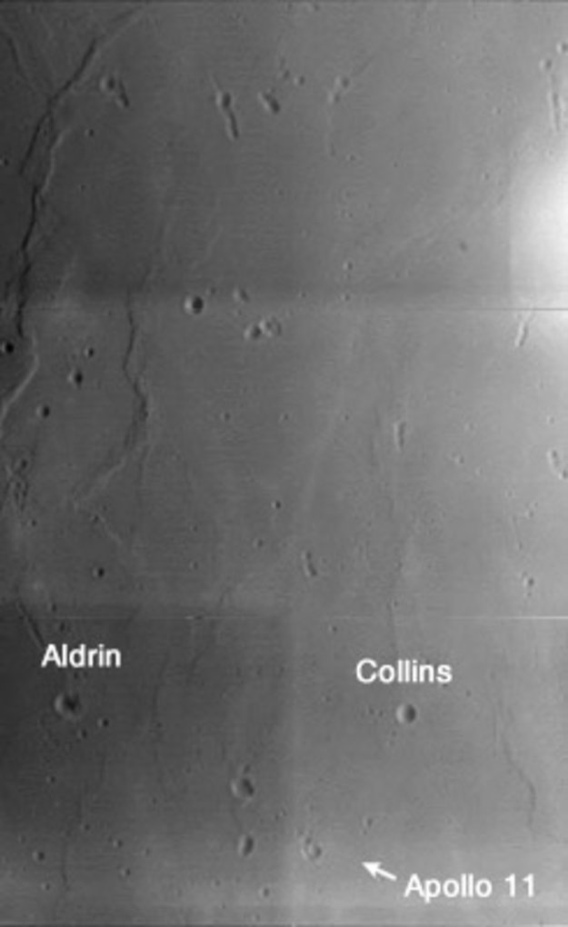 apollo 11 landing site earth - photo #11