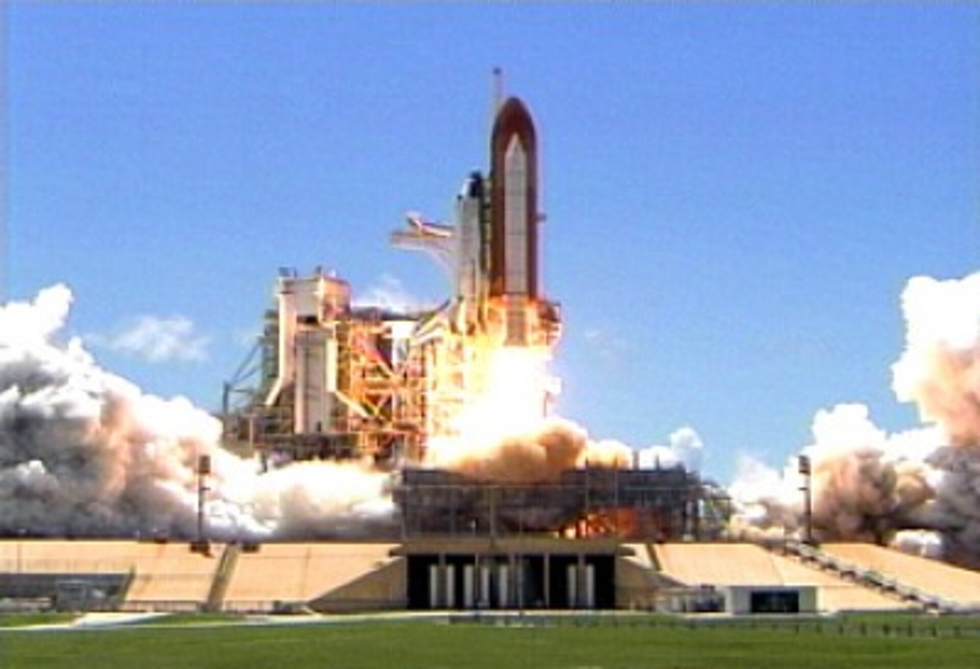 Successful launch of Space Shuttle Discovery