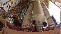 Syracuse 3B - Transfer of Ariane 5 ECA launcher