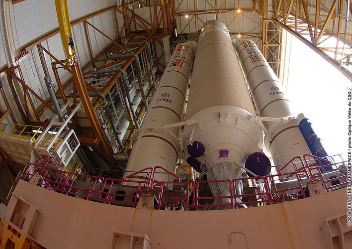 Transfer of Ariane 5 ECA launcher