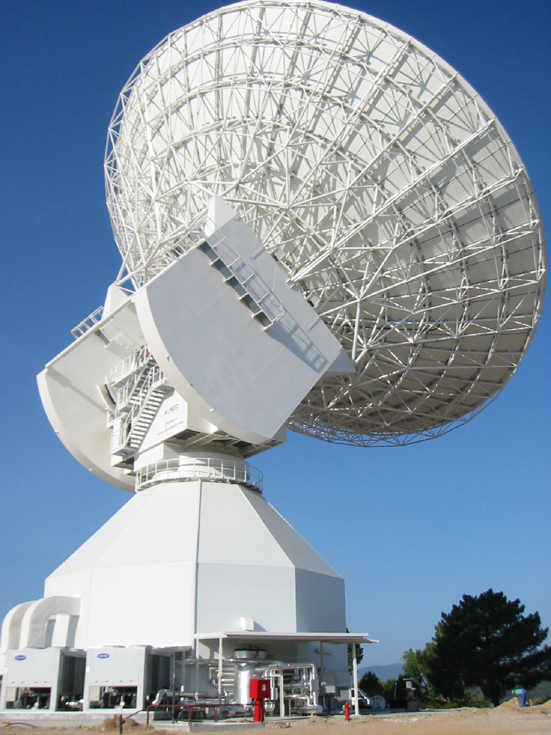 ESA's newest deep space antenna