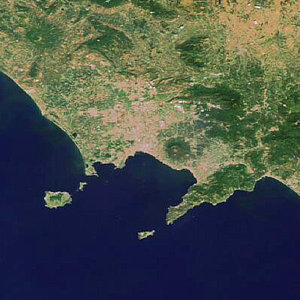 Gulf of Naples as seen by Envisat
