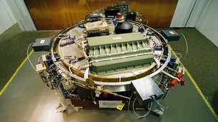 Huygens engineering model at ESOC in Darmstadt, Germany