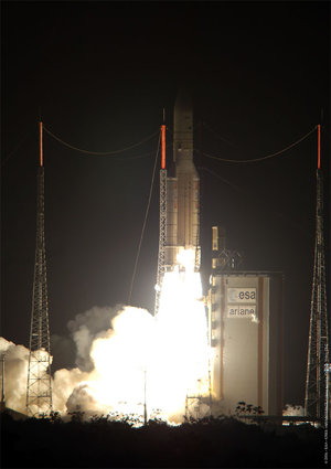 Launch of Ariane 5 ECA