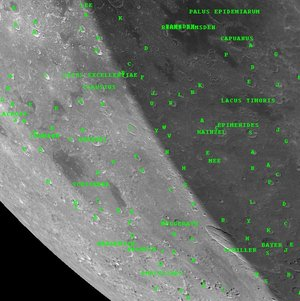 Lunar view of the SMART-1 impact area