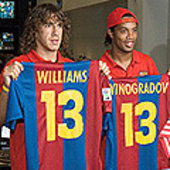 Puyol, Xavi and Ronaldinho