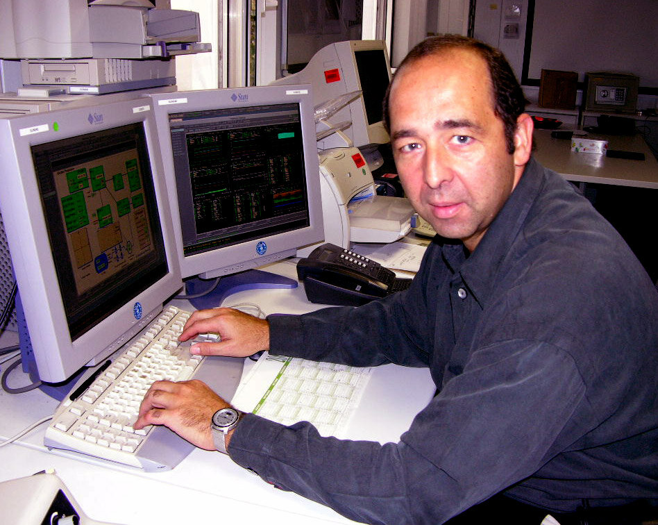 Octavio Camino-Ramos, SMART-1 Spacecraft Operations Manager