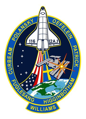 STS-116 mission patch