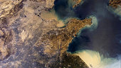 The Yellow Sea of China