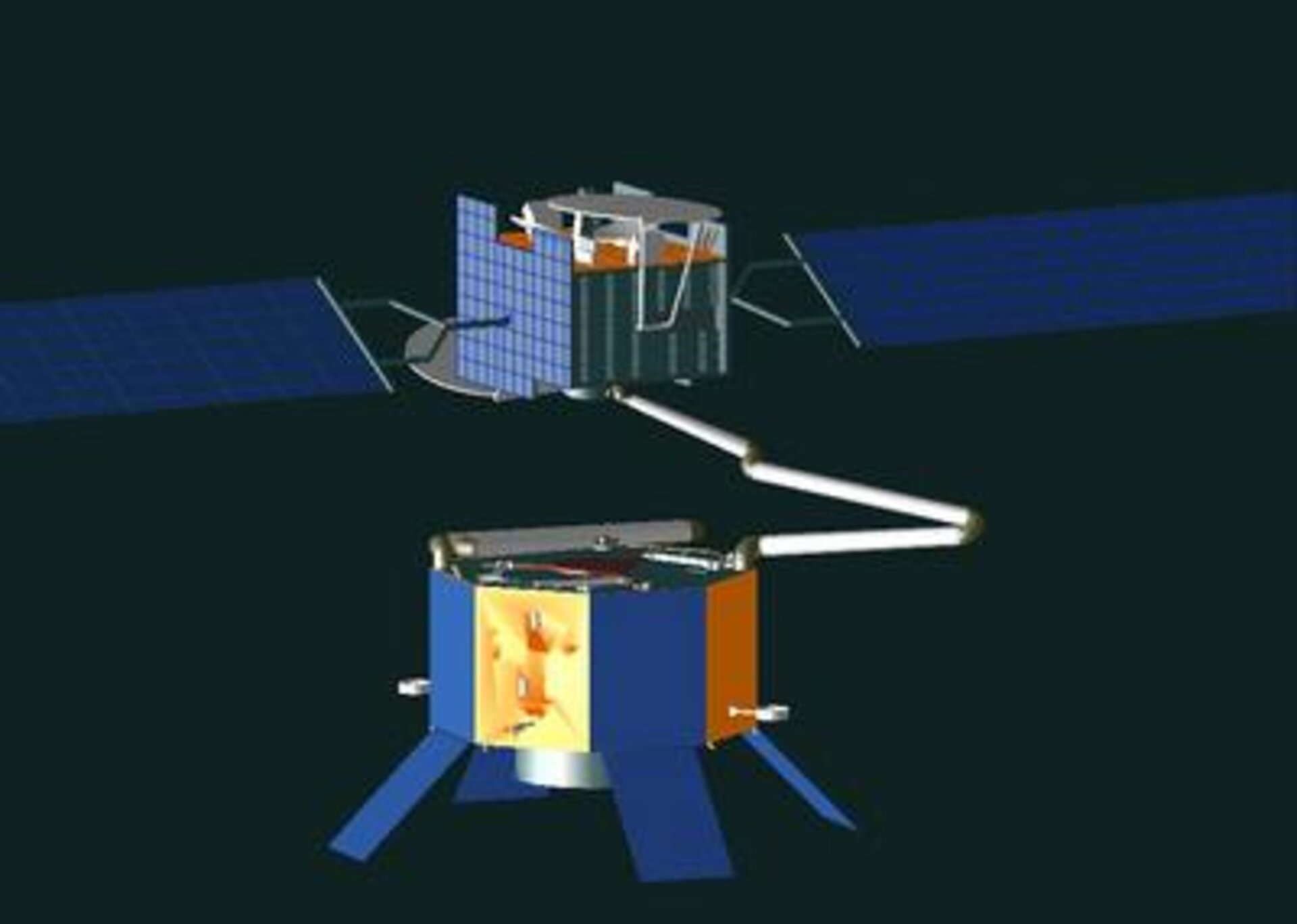 Animation of ESA's Geostationary Servicing Vehicle