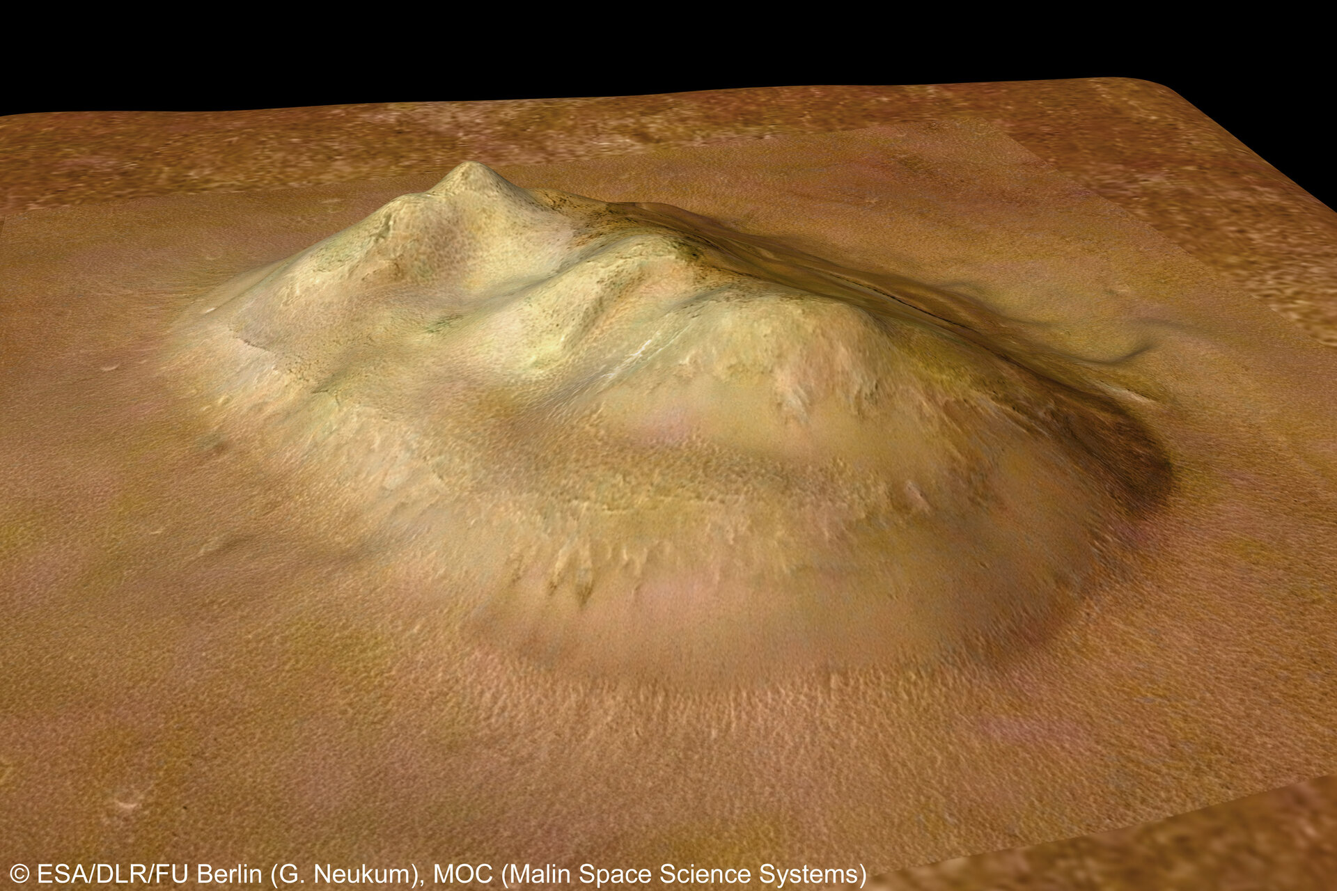 'Face on Mars' in Cydonia region
