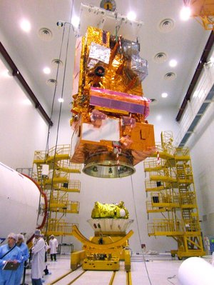 MetOp joins the Fregat upper-stage