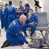 Preparing the experiment for Zero-G