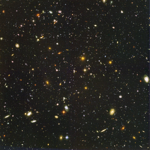 The Hubble ultra-deep field