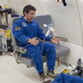 Trying to perform the experiment in Zero-G