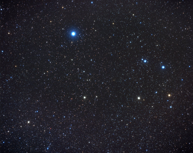 Antennae in southern constellation of Corvus