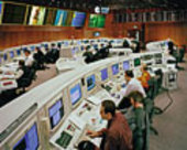 Control Room at ESOC, Darmstadt, Germany