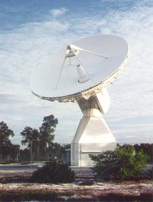 ESA's 15m tracking station at Perth, Australia