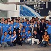 Group photo EuMAS students at GSOC