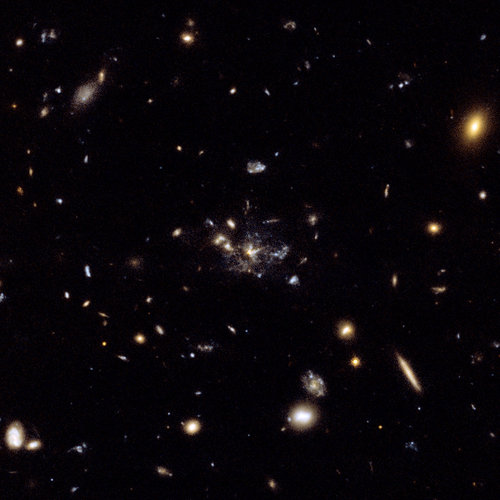 Hubble's view of Spiderweb Galaxy