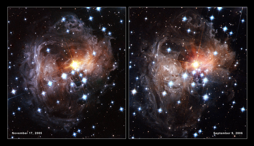 Hubble's views of V838 Monocerotis light echo