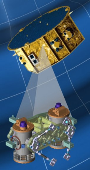 LISA Pathfinder artist's impression