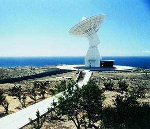 Maspalomas S-band and X-band ground station