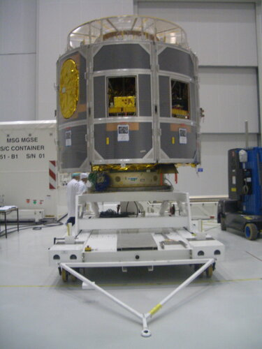 MSG-2 in preparation at ESTEC