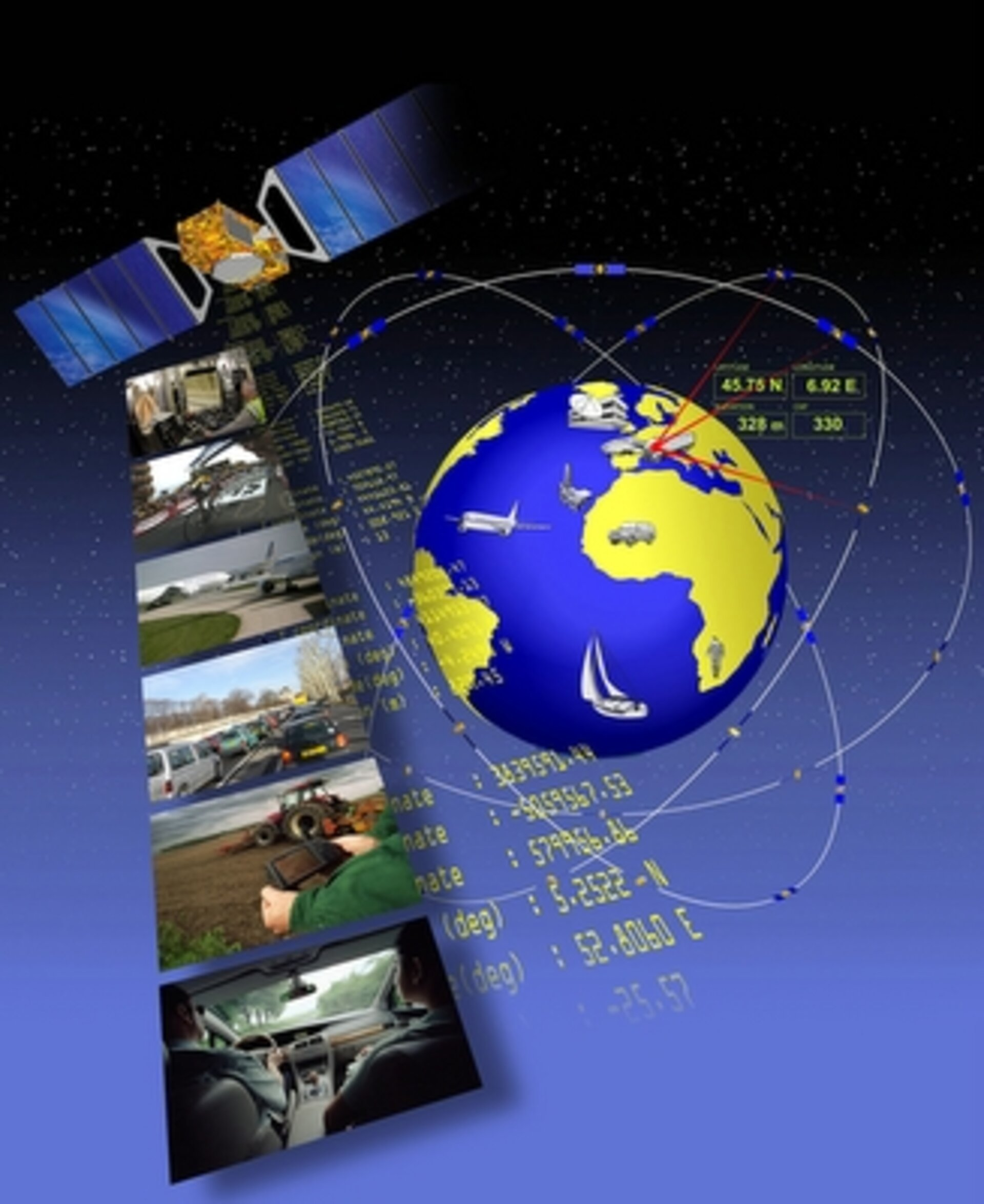 Satellite navigation data are used for many applications