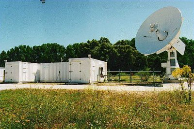 Transportable S-band ground station