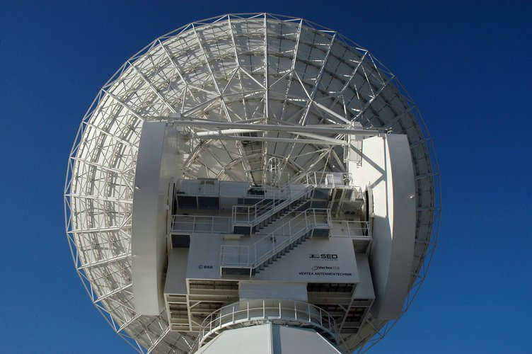 Cebreros dish - rear view