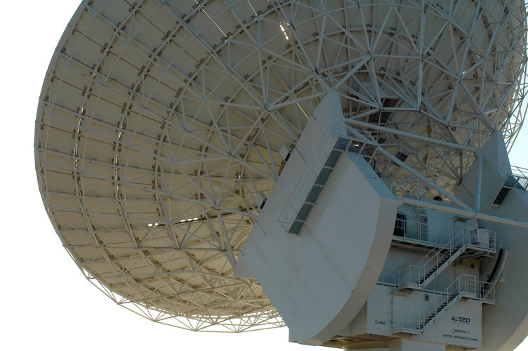 Cebreros Antenna - Back view of the main dish