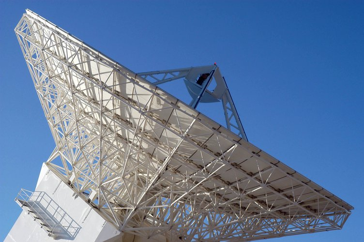 Cebreros Antenna - Main dish seen from the side