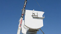 Cebreros Antenna - Mounting elevation counterweights