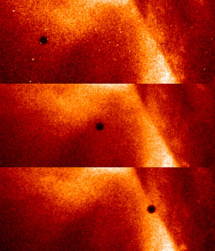 Close-ups on the 2006 Mercury transit by Hinode (Solar-B)