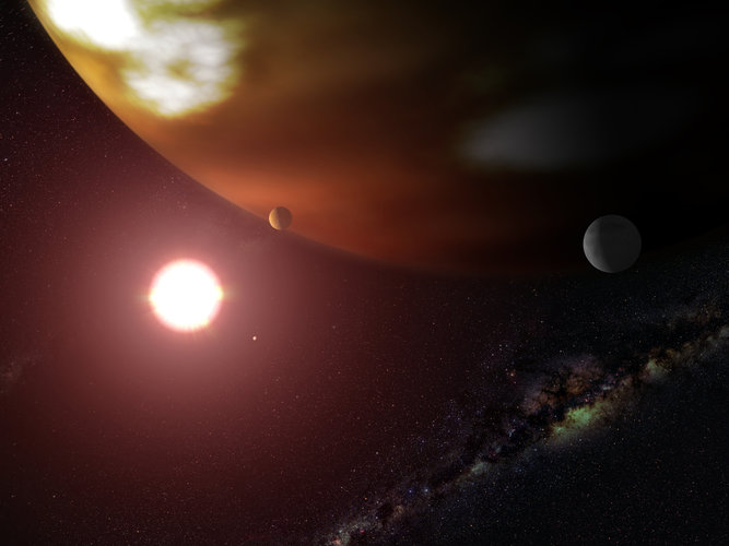 Exoplanet's true mass measured