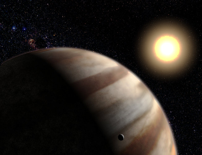 First direct measurements of exoplanet's atmosphere