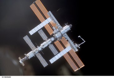 ISS configuration on arrival of STS-115