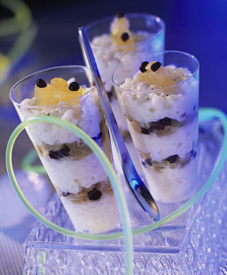 Rice pudding aux fruits confits