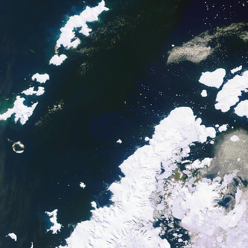 Antarctic Peninsula and South Shetlands Islands