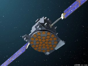 Artist impression Giove A satellite