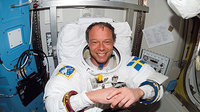 Fuglesang prepares for spacewalk