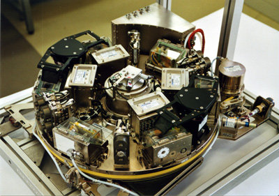 Space in Images - 2006 - 12 - Eine BIOLAB-Zentrifuge bei Tests im
