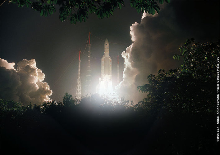 Fifth Ariane 5 launch 2006