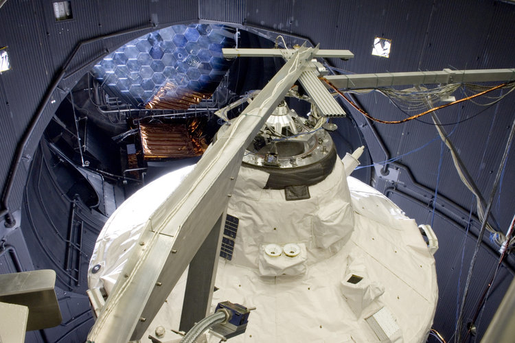 Jules Verne ATV was placed in the Large Space Simulator