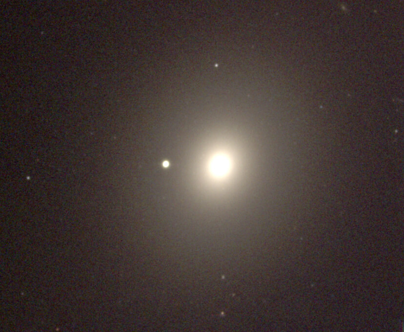NGC 4472 elliptical galaxy, hosting a stellar mass black hole
